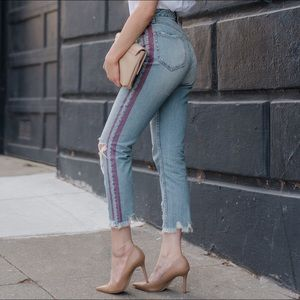 💋👖Sexy Celebrity Jeans HighRise Distressed Jeans
